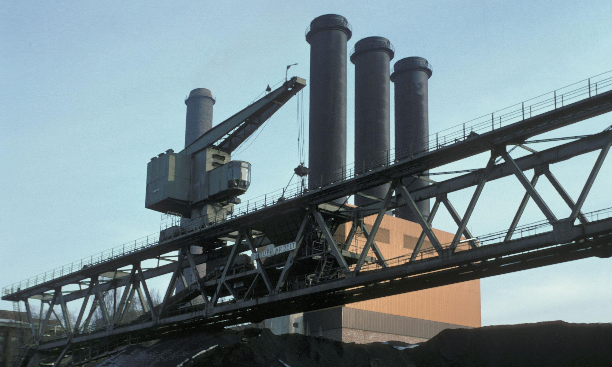 Industriefotografie Kohleabbau